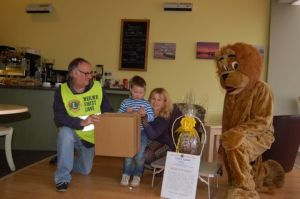 George Brice - Raffle Draw for Easter Egg Appeal