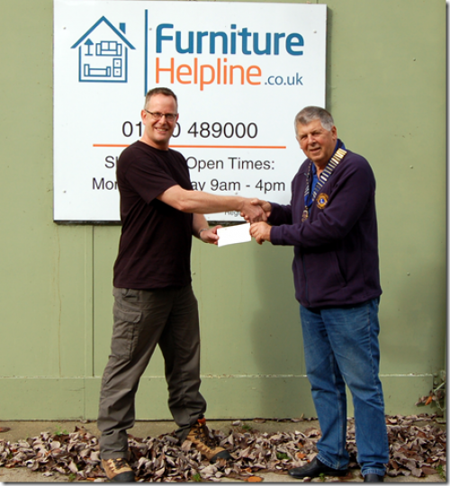 furniture helpline cheque