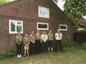 Healey 1ST Scout Hut