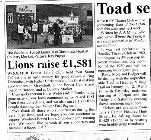 lions bordon herald765